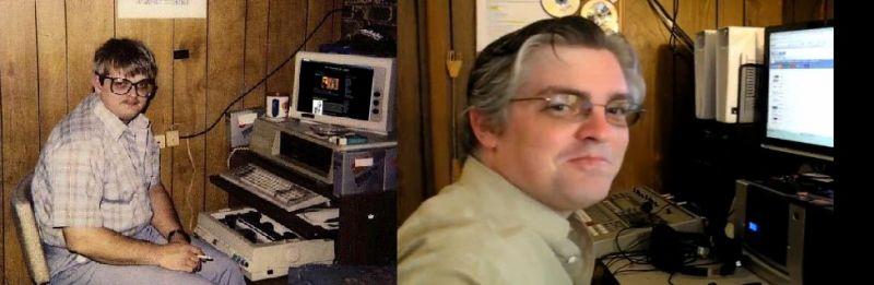 nerd antes e depois