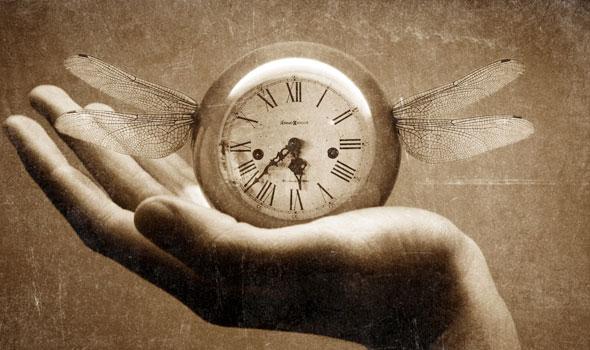 O tempo voa!