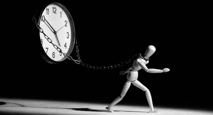 Escravo do tempo