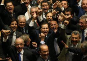 Carlos Sampaio e Democratas avaliam vitória de Rodrigo Maia