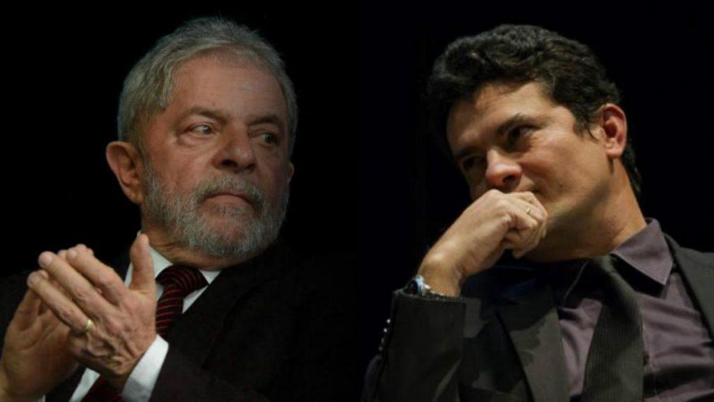 lula contra Sérgio Moro