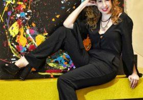 A descontração de Aline Pascholati