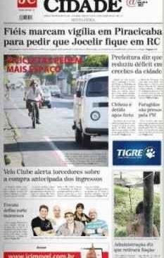 jornal cidade de rio claro, 24 de janeiro 2014