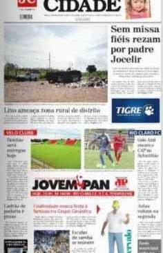 jornal cidade de rio claro, 25 de janeiro 2014