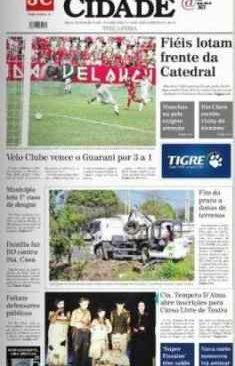 jornal cidade de rio claro, 28 de janeiro 2014