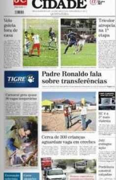 jornal cidade de rio claro, 30 de janeiro de 2014