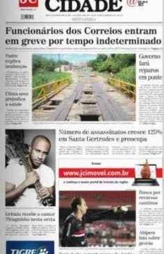 jornal cidade de rio claro, 31 de janeiro de 2014