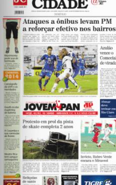Jornal Cidade de Rio Claro - 02/02/2014