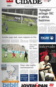 Jornal Cidade - 05 de fevereiro de 2014