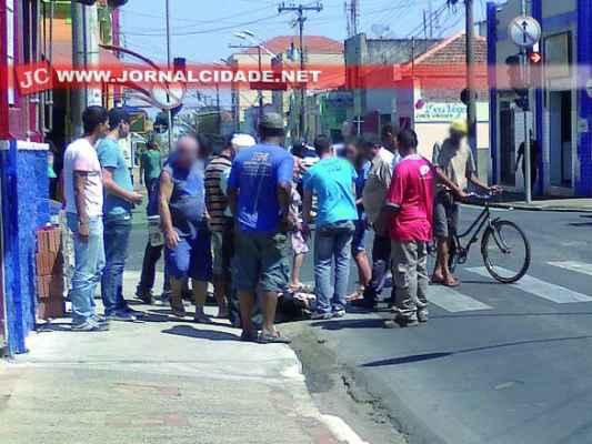 Em setembro de 2013 uma mulher também foi atropelada no mesmo cruzamento, no Centro de Rio Claro