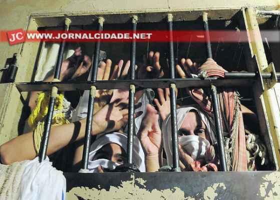 Agentes penitenciários em greve também criticam a superlotação nas cadeias e presídios (foto Agência Brasil)