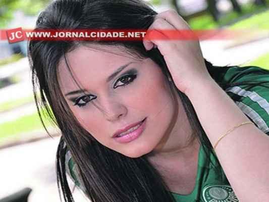 Natália Paseto foi a primeira colocada na fase inicial do concurso Belas da Torcida