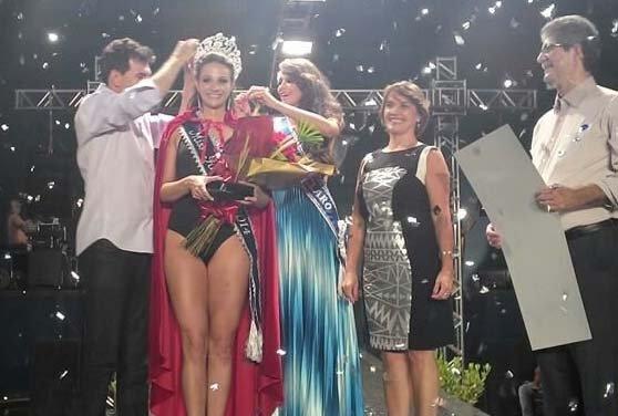 Vanessa Camargo, eleita Miss Rio Claro 2014 no último sábado, dia 15