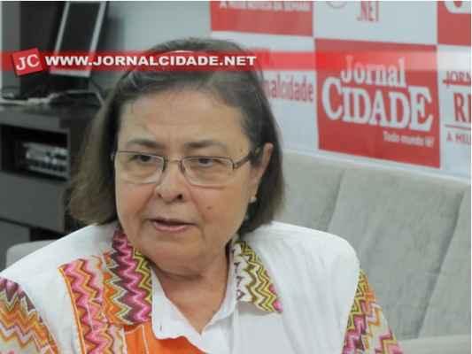 Olga Salomão, secretária municipal e coordenadora dos trabalhos do PMSB