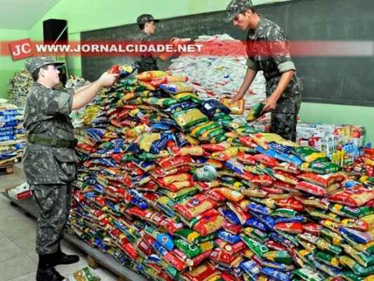 A ação tem apoio do Tiro de Guerra em Rio Claro