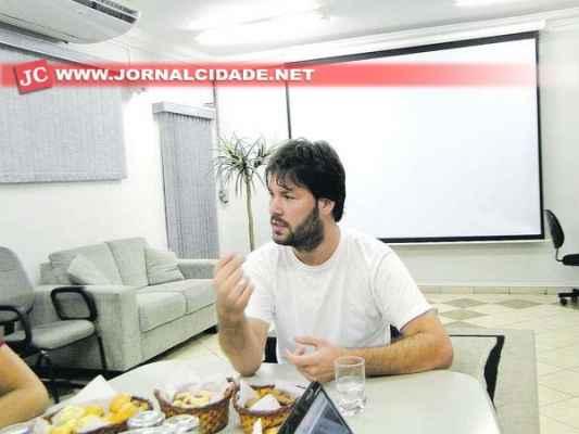 26/04/2014 - Café JC com o Maestro Jorge Geraldo.