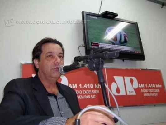 Pascon esteve no Jornal da Manhã da Rádio Excelsior Jovem Pan AM 1410 khz