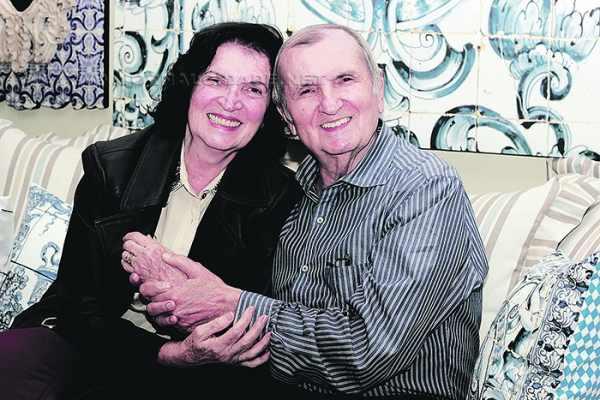 Maria Conceição e Waldemar J. Gallo, juntos há 55 anos