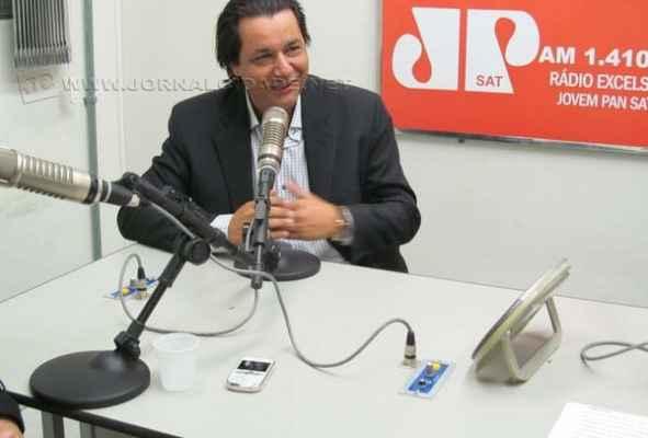 Prefeito de Santa Gertrudes contou algumas novidades do município para o Jornal da Manhã