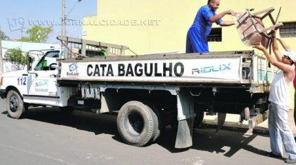 Os serviços de coleta de lixo da Prefeitura seguem normais no feriadão