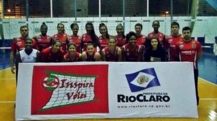 O time Velo Clube/Seme/Inspira Vôlei (Foto: Paulino Mello)