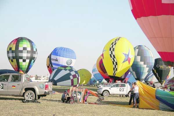 Eventos de balonismo acontecem em Rio Claro desde 2005, completando, neste ano, uma década de realização de provas