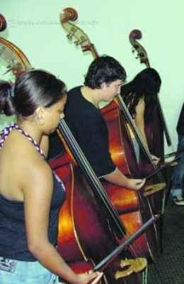 Para participar das aulas, que são gratuitas, não é preciso ter prévio conhecimento musical