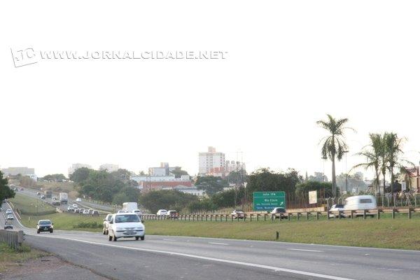 Atropelamento ocorreu no sentido Rio Claro - Cordeirópolis
