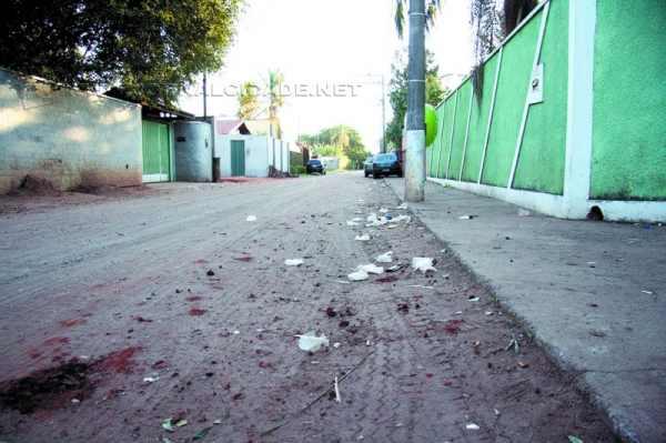 Assassinato em uma chácara situada na Rua 5, no bairro Parque dos Eucaliptos, em Rio Claro