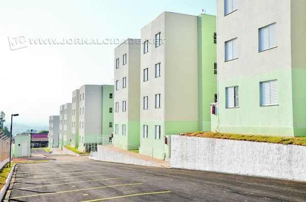 Com mais 192 unidades, a região do Jardim Araucária está sendo beneficiada com 384 apartamentos, já inclusos os dos residenciais Jacarandá e Cabreúva