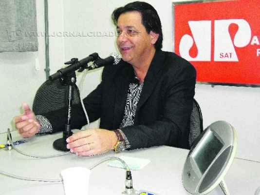 O prefeito de Santa Gertrudes, Rogério Pascon