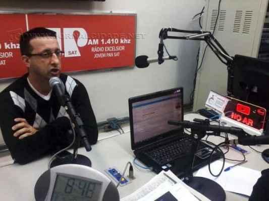 O gerente do Senac Rio Claro, Alexandre Martinez