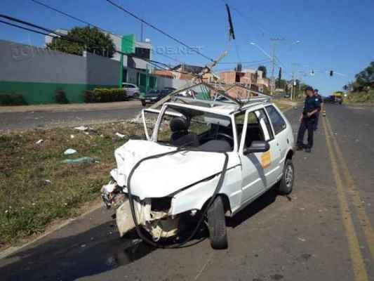 Acidente ocorreu cruzamento entre a Avenida dos Estudantes com a Rua 9MP, no bairro Mãe Preta