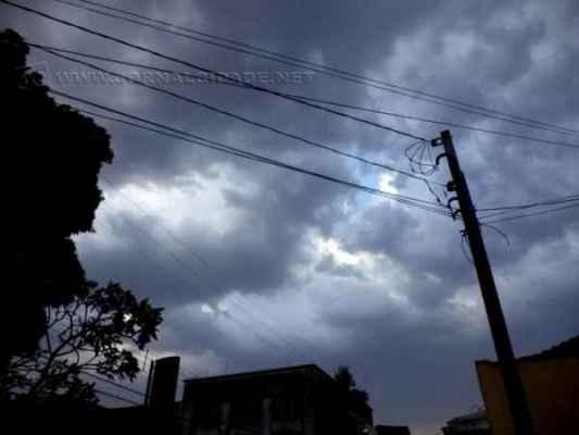 Depois do longo tempo de estiagem, a chuva chegou e trouxe alívio, aumentando a umidade relativa do ar