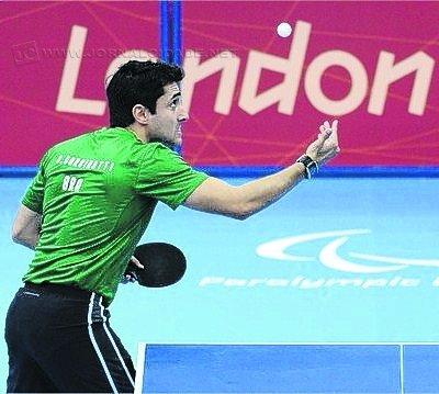 Carlos Carbinatti, que esteve nas Paralimpíadas de Londres, em 2012, é um dos veteranos da equipe brasileira no Mundial