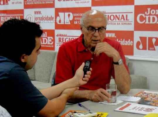 Eduardo Suplicy no Grupo JC de Comunicação