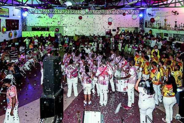 Escola de samba Grasifs realizou evento, no sábado, para lançamento do seu tema-enredo