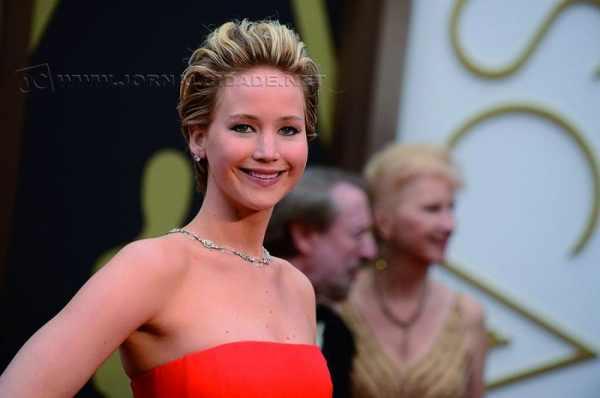 A atriz Jennifer Lawrence, de