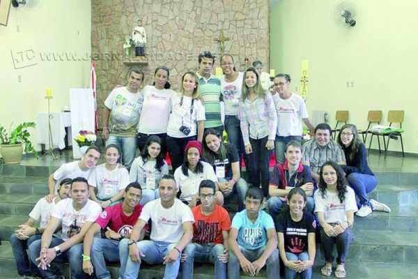 Na missão, os jovens foram enviados a quatro cidades para ações sociais e de evangelização