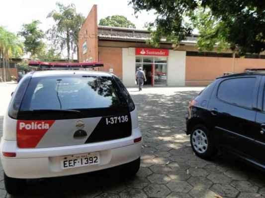 Agência bancária localizada dentro do NAM