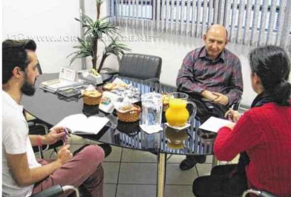 A entrevista com o médico Sidney Portilho do Nascimento foi feita pelos jornalistas do Grupo JC Fabíola Cunha e Lucas Calore