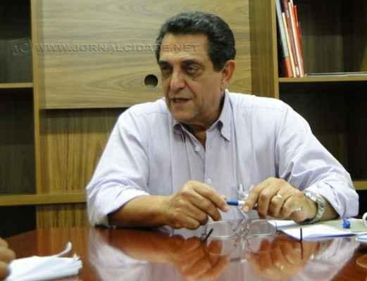 O coordenador regional da Macrorregião 5, Assed Bittar Filho