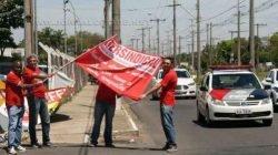 O movimento também atingiu unidade da mesma empresa no município de Limeira