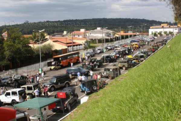 A concentração começa às 15h no estacionamento do Shopping Rio Claro