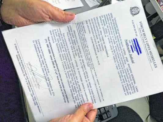 Falsa carta em nome do Fórum Hely Lopes Meirelles recebida por aposentado rio-clarense