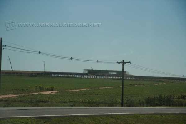 Obras da Honda, em Itirapina, avançam