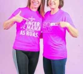 Valéria Pasetto e Imaculada Trivelato, presidente e vice da Rede Rioclarense de Combate ao Câncer