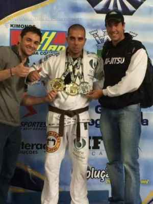 Mateus foi campeão em duas categorias no Brasileiro de Parajiu-jítsu