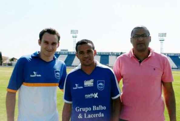 O lateral-esquerdo Piauí assinou contrato com o Azulão na última quarta-feira (Foto: Divulgação)