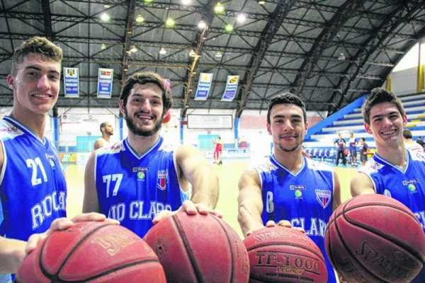 Rafael, Victor, Guilherme e Leonardo integram time do RC Basquete que disputará a sétima edição do Novo Basquete Brasil